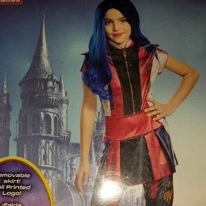 Descendants 3 Evie Costume Size Medium 8-10